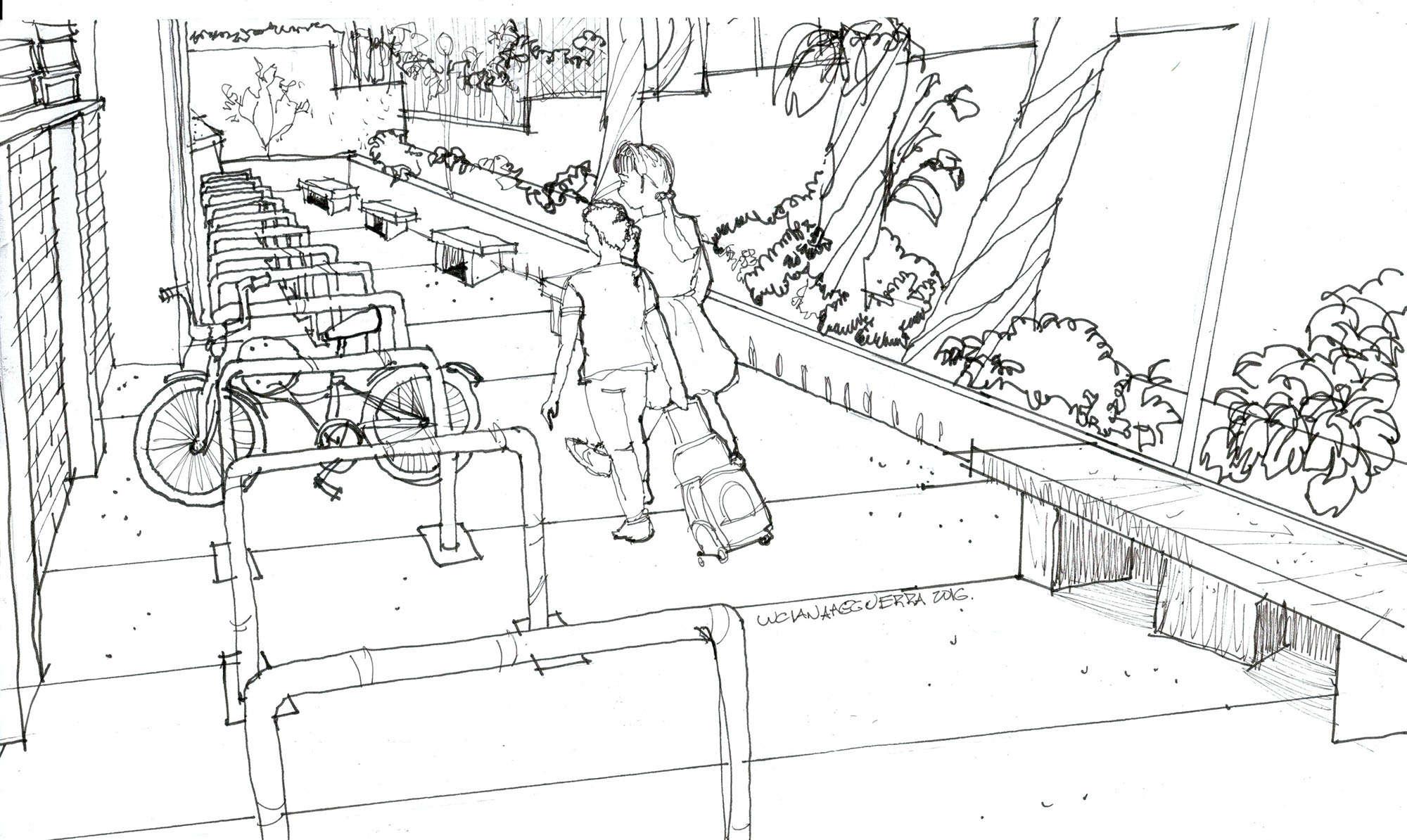 ilustração vila olímpia