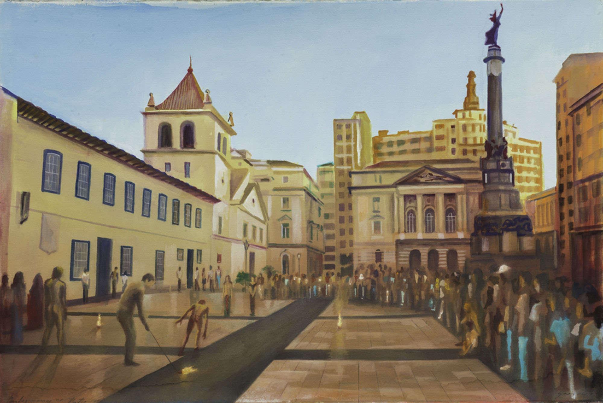 Pintura Gregório Gruber