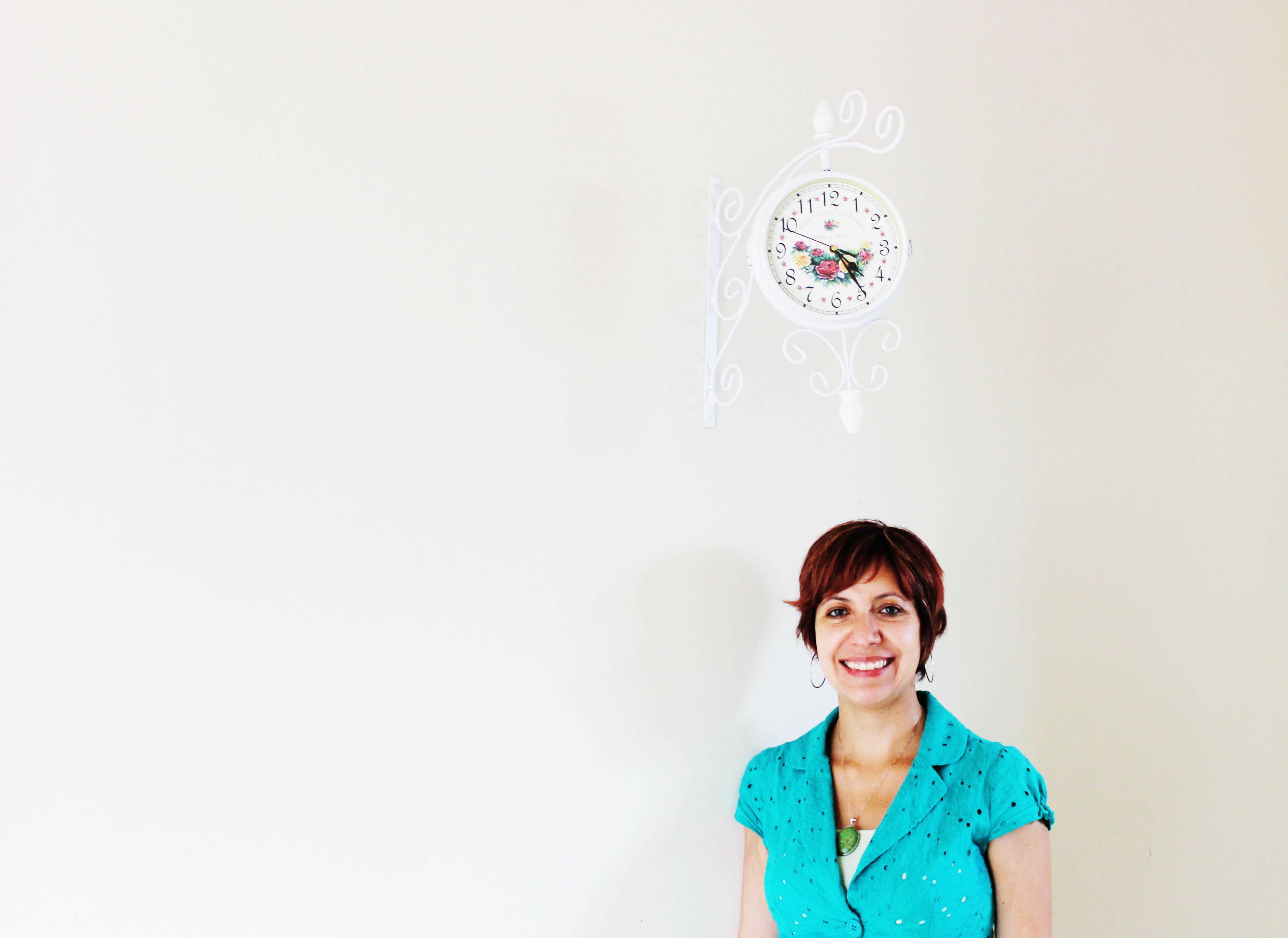 Cecília Letelier e seu Relógio de Parede